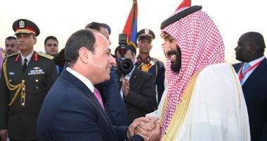 صورة حماة الوطن يرحب بزيارة ولى عهد السعودية لمصر