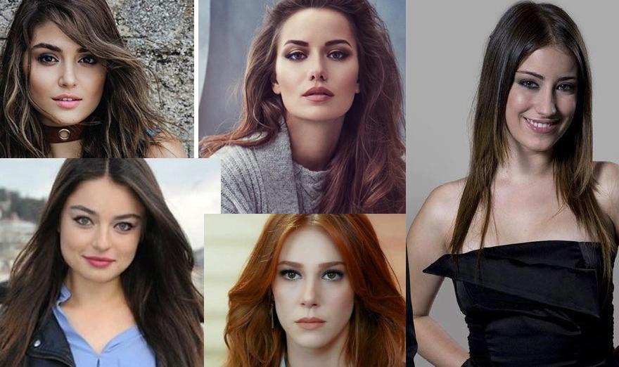 الوكالة نيوز : خمس نجمات تركيات يدخلن قائمة أجمل 100 وجه في العالم لعام 2019