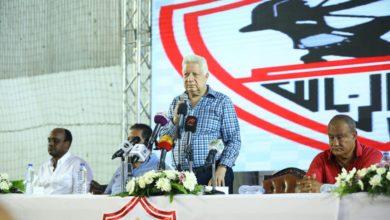 مؤتمر صحفي لمرتضى منصور