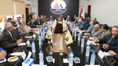 """Photo of رؤساء الأحزاب السياسية يعلنون دعمهم  ل,"""" جيش مصر الأبيض,""""ويكشفون مخططات الجماعة الإرهابية لنشر الأكاذيب"""