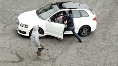 سرقة سيارة بالإكراه