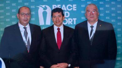 Photo of «صبحي» و«جبر» و«إدريس» يشاركون في مؤتمر «السلام والرياضة» بموناكو
