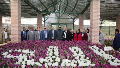 Photo of إفتتاح معرض زهور الخريف بالقناطر الخيرية