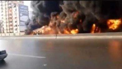 Photo of الوكالة نيوز ترصد لحظات الرعب على الدائري عقب انفجار سيارة وقود