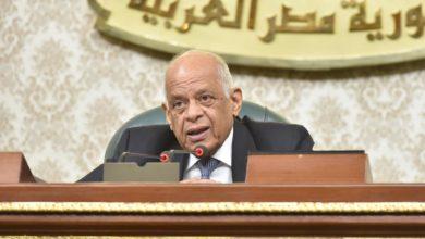 صورة علي عبد العال يهنئ رئيس الجمهورية بعيد الشرطة