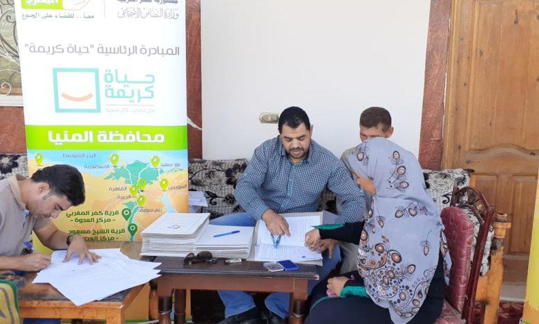 Photo of ضمن مبادرة «حياة كريمة».. مشروعات متنوعة لـ6 قرى بمراكز المنيا