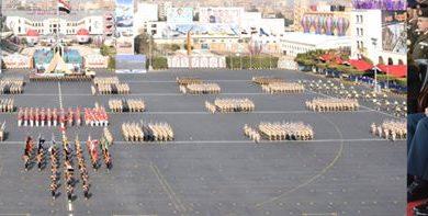 Photo of وزير الدفاع يشهد حفل إنتهاء فترة الإعداد العسكرى لطلبة الكليات العسكرية
