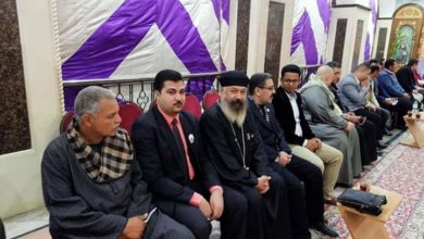 Photo of «الحركة الوطنية» بسوهاج يشارك شركاء الوطن احتفالاتهم بعيد الميلاد المجيد