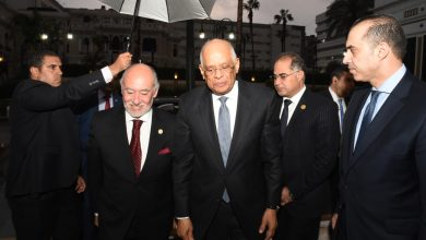 Photo of عبدالعال خلال استقبال رئيس مجلس النواب التشيلي : نقدر موقفكم الداعم للقضية الفلسطينية