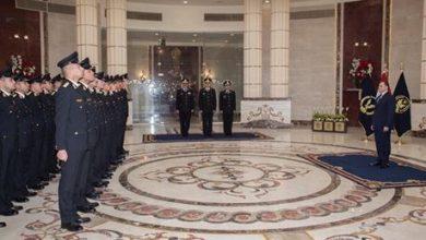 وزير الداخلية يشهد مراسم تخرج الدفعة الاستثنائية