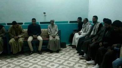 Photo of أهالي نجع الملقطة بالكرنك يتلقون العزاء في الرئيس الأسبق مبارك
