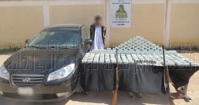 Photo of ضبط مسجل خطر بحوزته 25 ألف قرص مخدر في السلوم