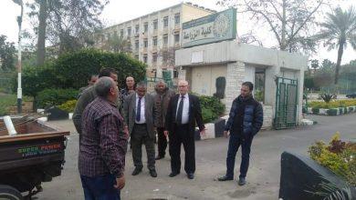 وحدة الأزمات تتابع إزالة أثار الطقس بكليات جامعة الأزهر بالقاهرة والأقاليم