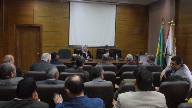 Photo of أمين عام جامعة بنها تؤكد على تحقيق الانضباط الإداري والمالي