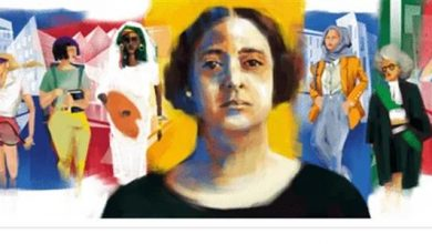 صورة الذكرى الـ141 لميلاد نصيرة المرأة «هدي شعراوي» واحتفال خاص من جوجل