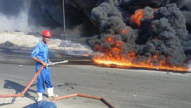 Photo of حريق موقف العاشر .. تعرف على تفاصيل حريق كسر ماسورة مواد بترولية كاملة