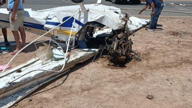 Photo of وفاة مصابي حادث سقوط طائرة الجونة