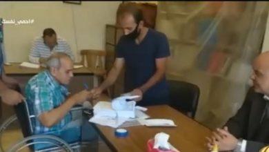 صورة شاهد مواطن من اصحاب الهمم يشارك في انتخابات مجلس الشيوخ