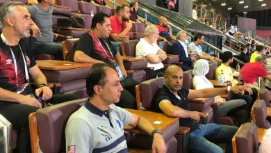 Photo of أحمد أيوب وطارق مصطفى يحضران مباراة الأهلي والإنتاج الحربي