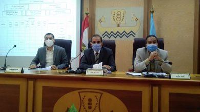 صورة حملات لإزالة التعديات بمخالفات البناء في كفر الشيخ