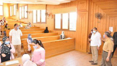 Photo of بدء اختبارات القدرات بجامعة المنيا وسط إجراءات احترازية