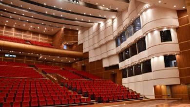 صورة السيسي يفتتح مجمع الفنون والثقافة بجامعة حلوان عبر الفيديو كونفرانس