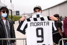 صورة بالصور.. موراتا يظهر للمرة الأولي داخل نادي يوفنتوس