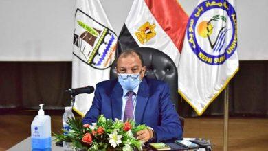 صورة رئيس جامعة بنى سويف: رعاية الشباب من أهم الإدارات لدورها في بناء شخصية الطالب