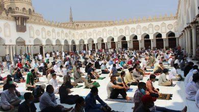 صورة خطيب الجامع الأزهر: نرفض كل محاولات استفزاز مشاعر المسلمين والمساس بمقدساتهم