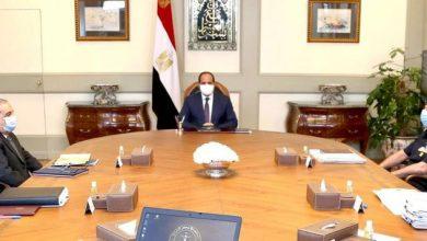 صورة السيسي يتابع الموقف التنفيذي لمشروع «مستقبل مصر» بالضبعة