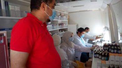 صورة الكشف على ١١١٦ مريضًا ضمن قافلة طبية مجانية في أبو المطامير