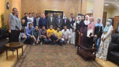 صورة رئيس جامعة بنها يستقبل رئيس مجلس إدارة شركات ستار فيد الطوخي
