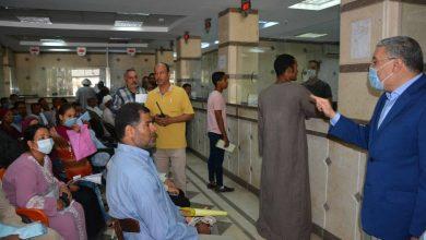 صورة محافظ المنيا يتابع استقبال طلبات التصالح بالمركز التكنولوجي