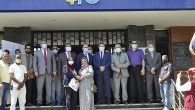 صورة بدء انتخابات التجديد الثلثى لصندوق التأمين في جامعة المنيا
