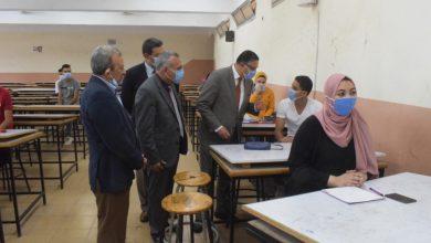 صورة رئيس جامعة بنها يتفقد الدراسة بهندسة شبرا