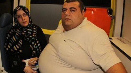 محمود سمير، مريض السمنة المفرطة