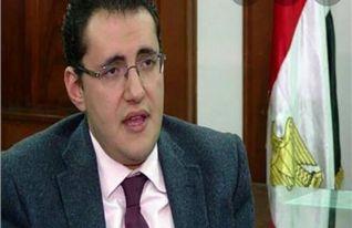 الدكتور خالد مجاهد المتحدث الرسمى باسم وزارة الصحه