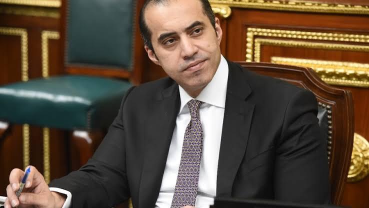 امين البرلمان المستشار محمود فوزي