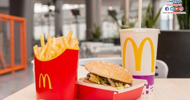 منيو وجبات التوفير من ماكدونالدز والحلويات مع الأسعار بالكامل الوكالة نيوز