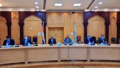 رئيس جامعة الأزهر يستقبل الرئيس التنفيذي لوكالة الفضاء المصرية