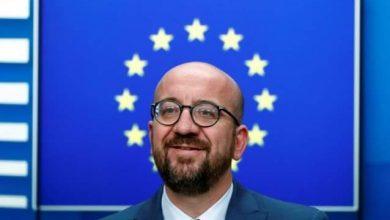 رئيس المجلس الأوروبي شارل ميشيل