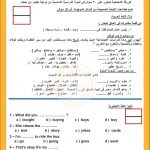 نماذج امتحانات الوزارة الرسمية للصف الخامس الابتدائي الترم الأول 2021| متعددة التخصصات