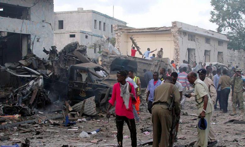 مقتل 12 من قوات الأمن الصومالية بانفجار قنبلة وسط البلاد