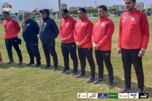 دقيقه حداد علي ضحايا قطار الصعيد في مران المنتخب الأولمبي