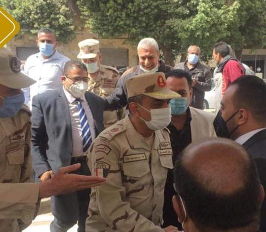 مساعد القائد العام لقوات الدفاع الشعبي يكرم محمد تيسير مطر