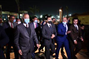 وزير الرياضة ومحافظ القليوبية يفتتحان عدداً من المنشآت الشبابية والرياضية بنادي العبور
