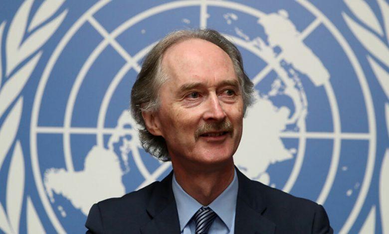 المبعوث الأممي إلى دمشق