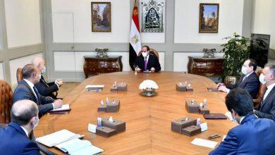 السيسي يتابع نشاط شركة إيني الإيطالية بقطاع الغاز والبترول في مصر
