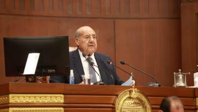 رئيس الشيوخ يفتتح أعمال الجلسة العامة لمناقشة قانون المهندسين
