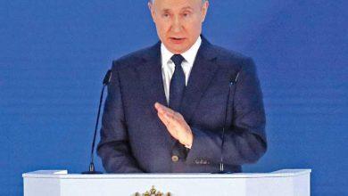كيف رد بوتين على موقف الغرب ضده بسبب اوكرانيا